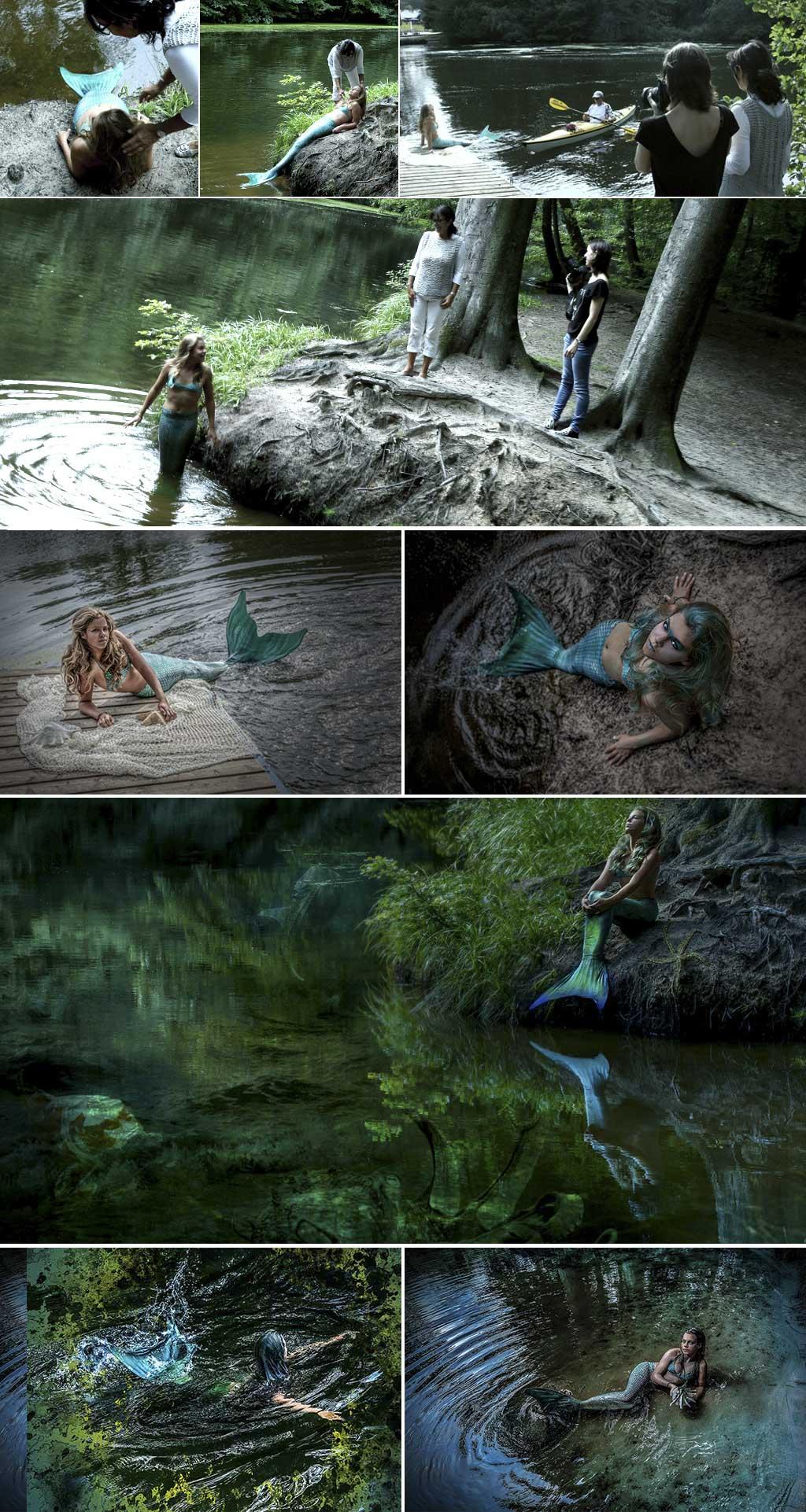 fotodesign ilona voss fotografie photography art kunst kreativ mermaid Arielle Meerjungfrau flosse