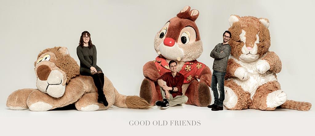 fotodesign ilona voss fotografie people menschen stofftiere good old friends